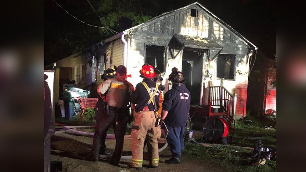 Three people are displaced after their Memphis Ave. home was on fire. (Source: Madison Fire Department)