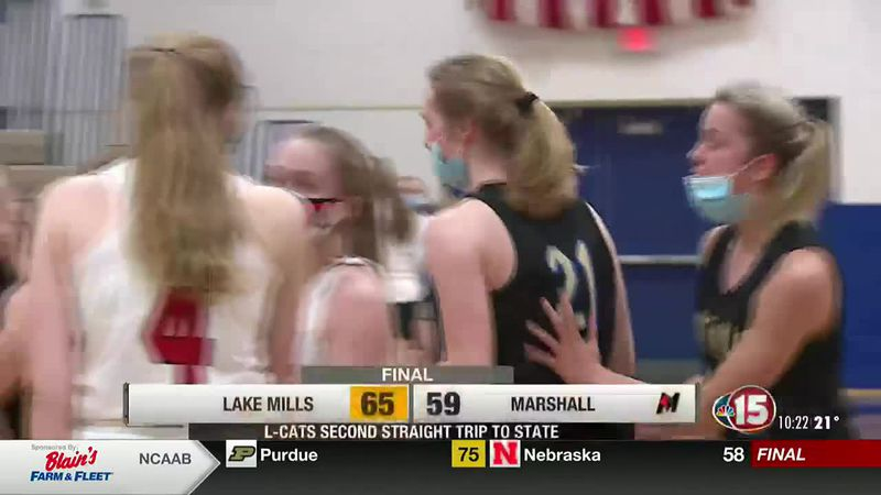 Lake Mills defeats Marshall