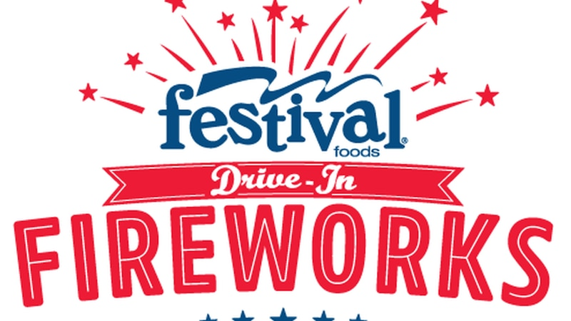 Festival Foods Drive-In Fireworks show