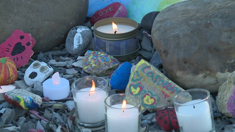 A remembrance ceremony was held Oct. 16 in honor of Carolanah Schenk.