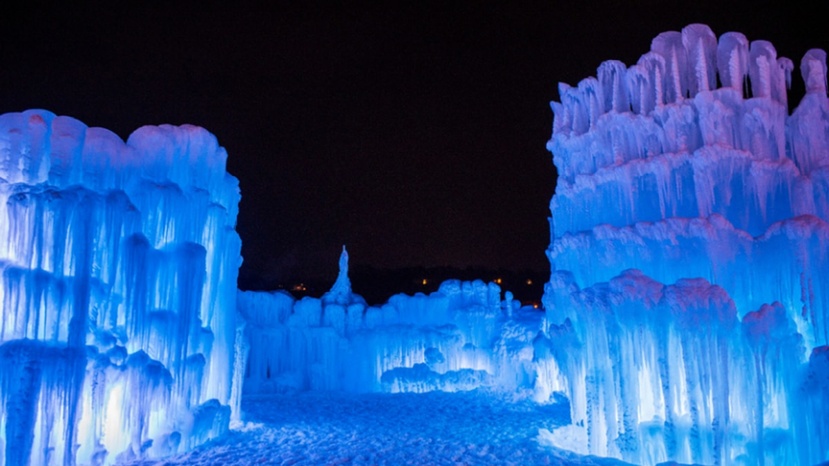 The Lake Geneva Ice Castles