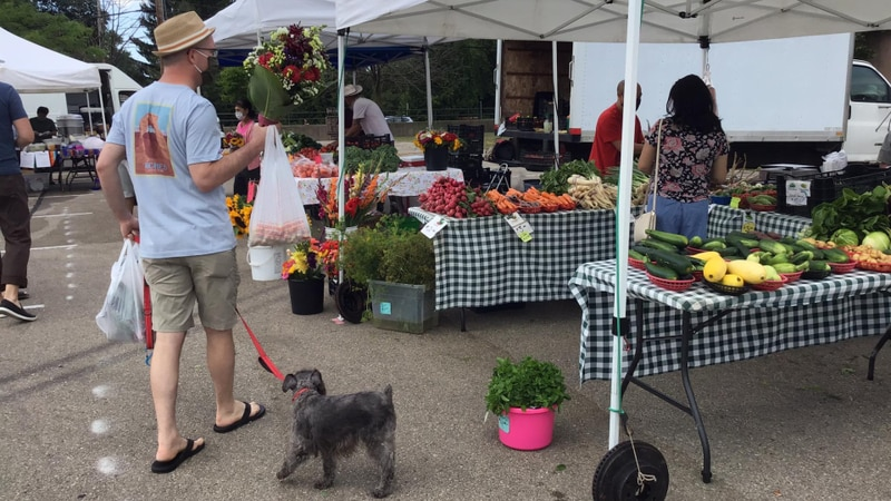 Hilldale Farmers Market is set to open on Saturday, May 1, 2021.