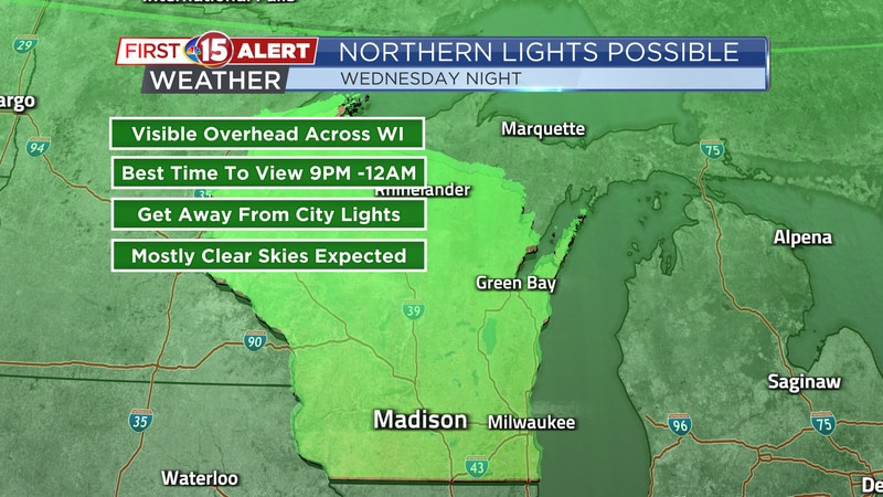 Northern Lights Possible Wednesday Night
