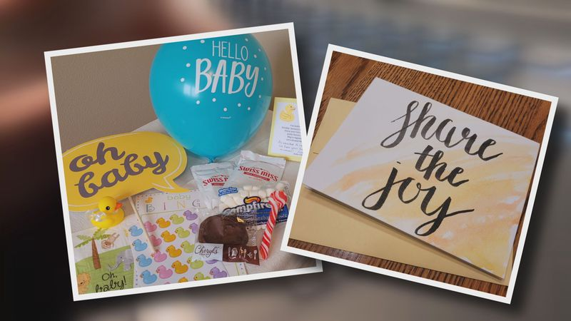 Kellie O'Brien started a business helping people celebrate baby and wedding showers virtually.