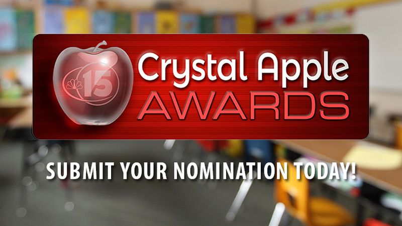 Crystal Apple Awards -  Submit a Nomination Today!