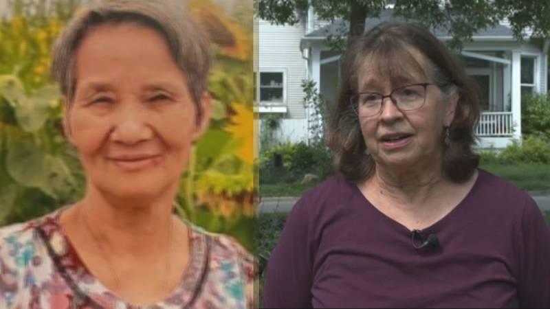 Cheryl Saltzman found Yu Zhu Xu after seeing a Silver Alert Tuesday morning