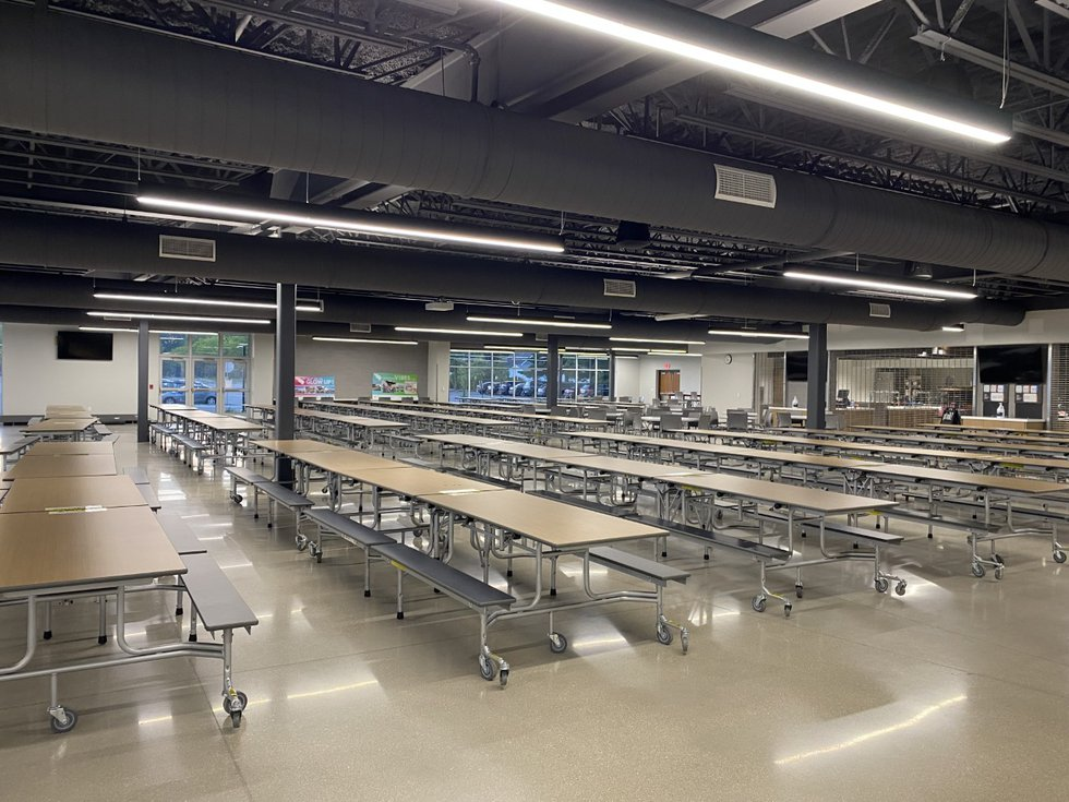 Middleton High North Wing cafeteria (continued)