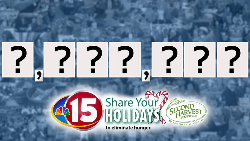 NBC15 Share Your Holidays final meal reveal will air LIVE during NBC15 News at 6 on Wednesday