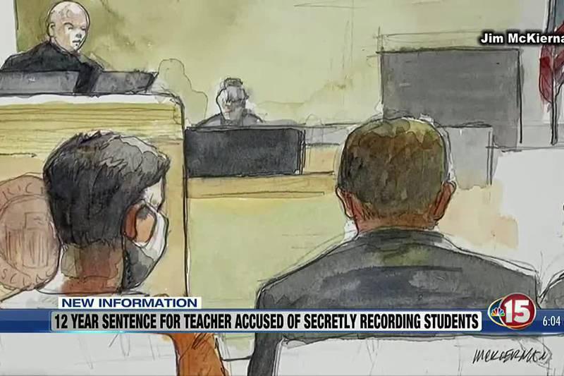 Fmr. Madison East teacher sentenced for secretly filming students