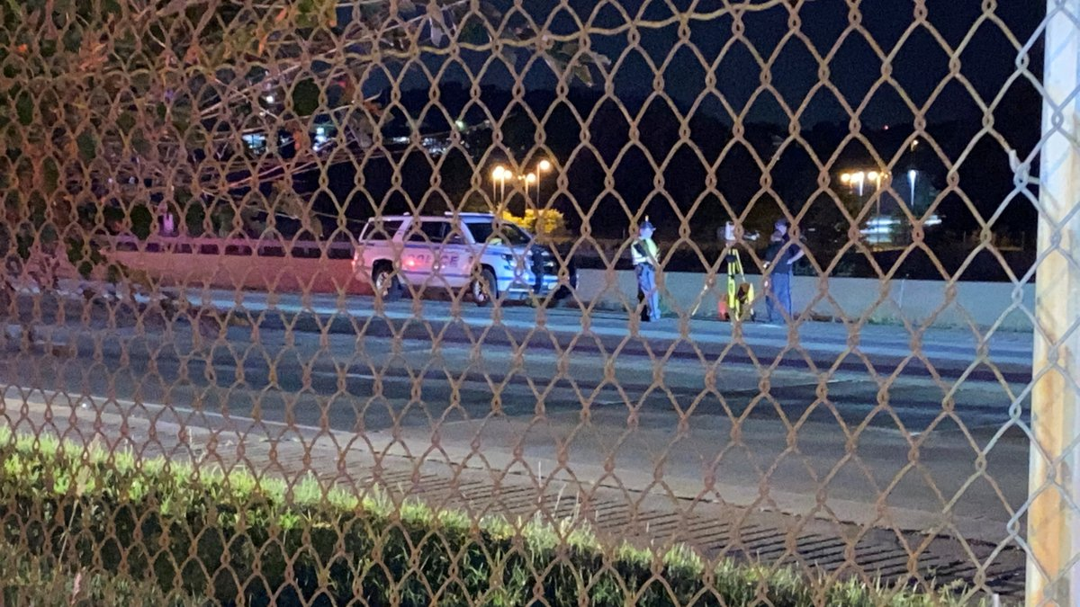 A pedestrian is dead after being hit by a vehicle on U.S. 151
