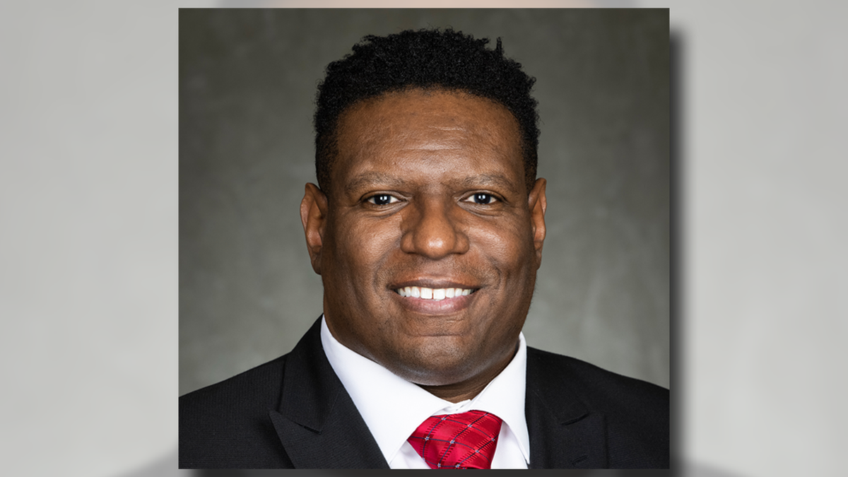 Gov. Tony Evers appoints Kalvin Barrett (pictured) to serve as Dane Co. Sheriff on April 2, 2021.