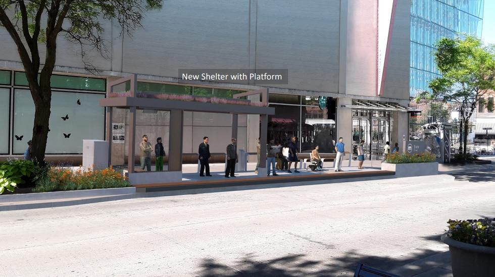 New BRT design