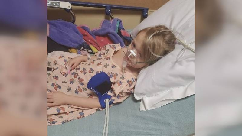 Then five-year-old Izabel Hickstein was hospitalized in Feb. 2020, just before the pandemic.