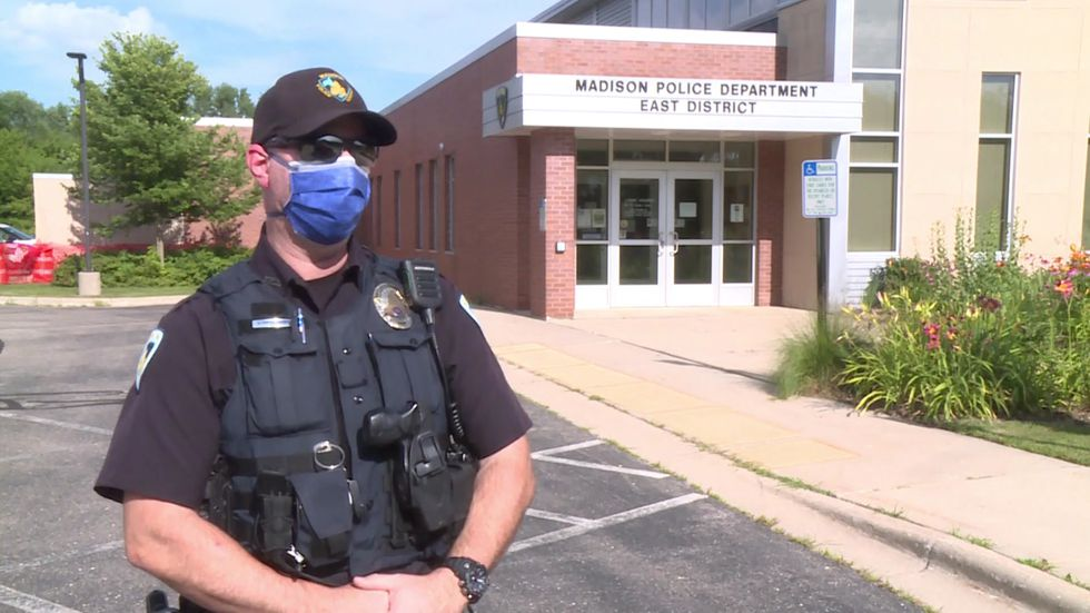 East District Officer Andy Deuchars