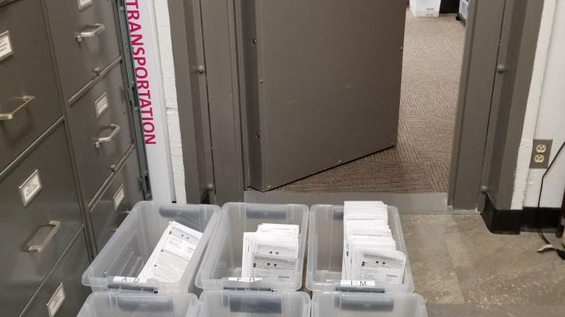 The city of Monroe keeps ballots in secure location