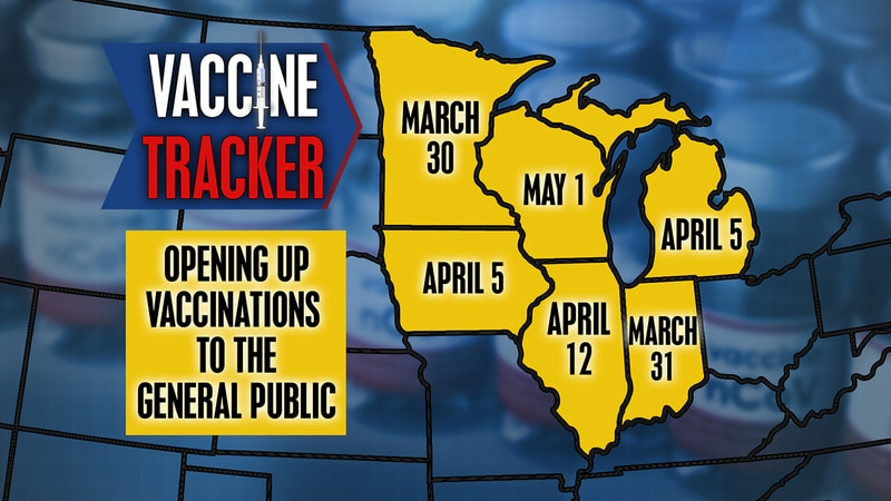 The NBC15 is answering your questions about vaccine eligibility in Wisconsin compared to other...