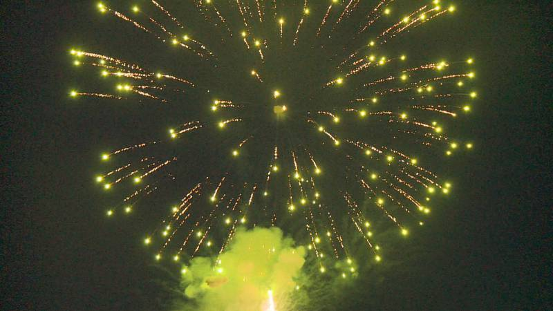The City of Portage changed the location of its annual fireworks show in 2020 due to the...