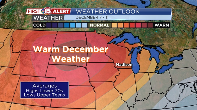 Temperature Outlook Dec. 7-11