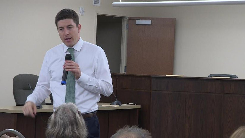 FILE: Rep. Bryan Steil (R-1st) said he received President Donald Trump's approval Tuesday to...