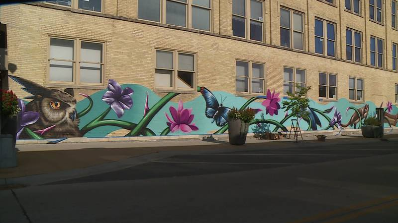 'It does become an attraction': Janesville Area Convention & Visitors Bureau invites mural...
