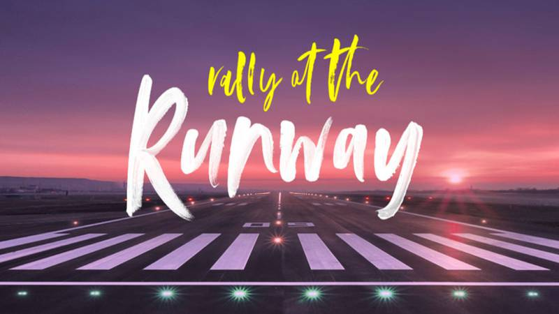 """""""Rally at the Runway"""" is an event to help raise funds for the Fond Blanc Foundation, which..."""