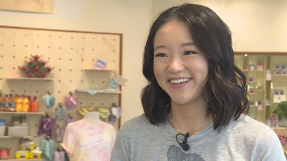 Grace Wang is the owner of Petphoria, the newest addition to Hilldale Shopping Center.