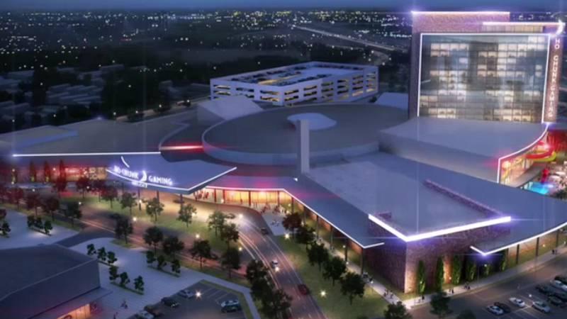Artist rendering of proposed Beloit casino