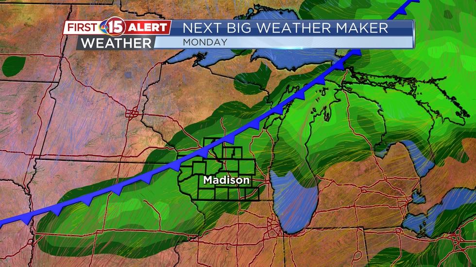 Next Big Weather Maker - Rain and storm chances return early next week