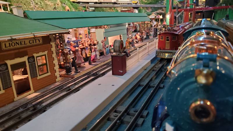 The trains are back up and running!