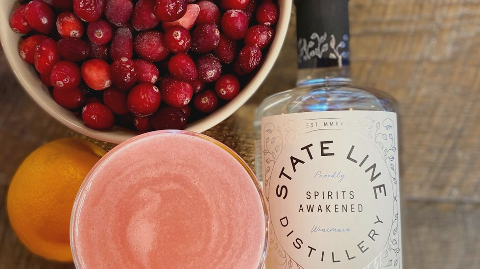 How to make a holiday Cosmopolitan.