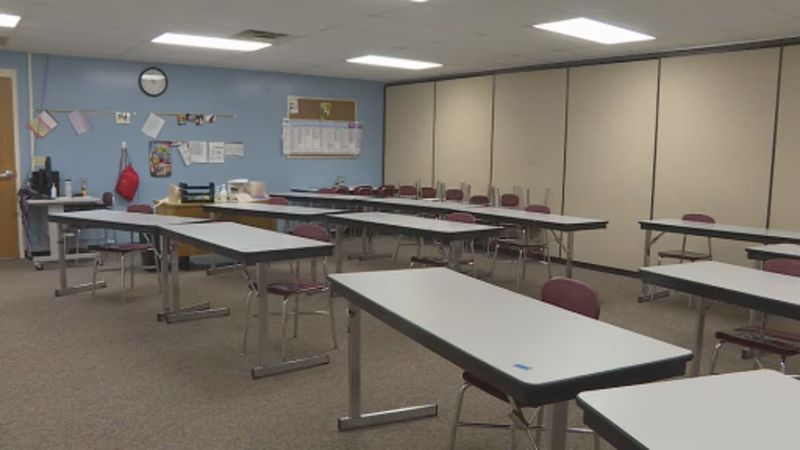 Sauk Prairie High School students have been in a hybrid learning model since last August.