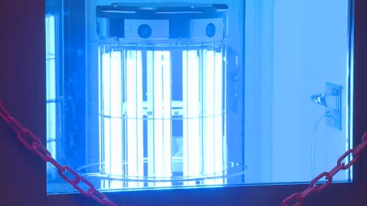 Dane County Sheriff's Office is testing out UV light emitters to kill bacteria within the jail....