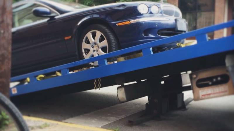 Auto repossession applications at the lowest they've been in 5 years in Wisconsin, according to...