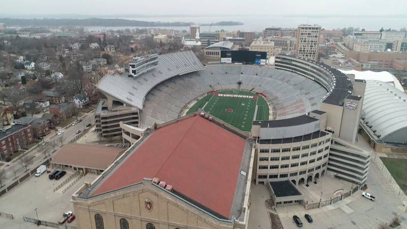 Camp Randall Stadium is expected to be filled with fans when the season opens on Sept. 4.