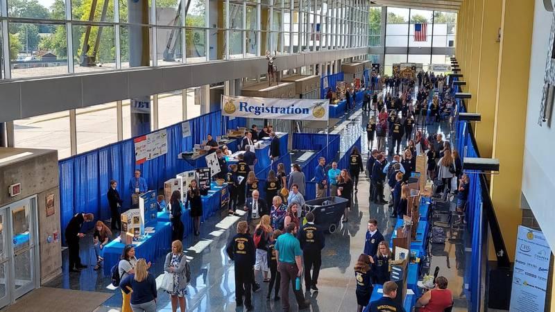 Wisconsin FFA Convention marks beginning of Alliant Energy Center busy season