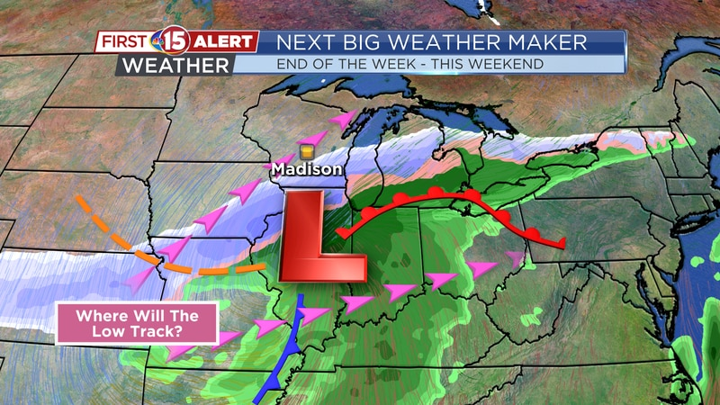 Next Big Weather Maker - Friday - This Weekend