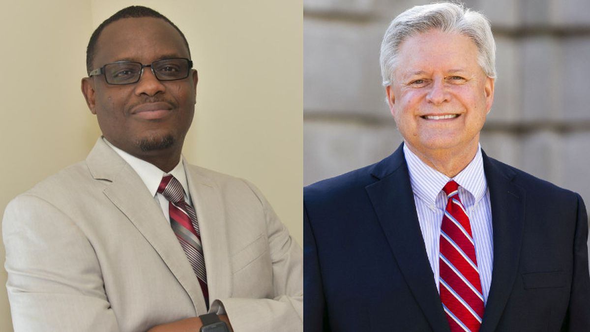Samba Baldeh (left) and Walter Stewart (right) are both running for Assembly District 48.