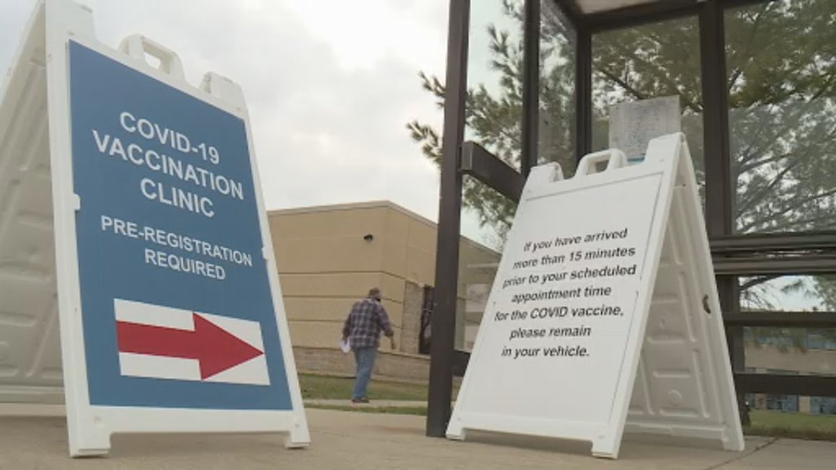 Blackhawk Technical College houses the state's first community-based vaccination clinic.