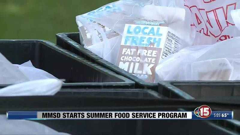 The federally-funded program provides breakfast, lunch and snacks to kids who rely on free...