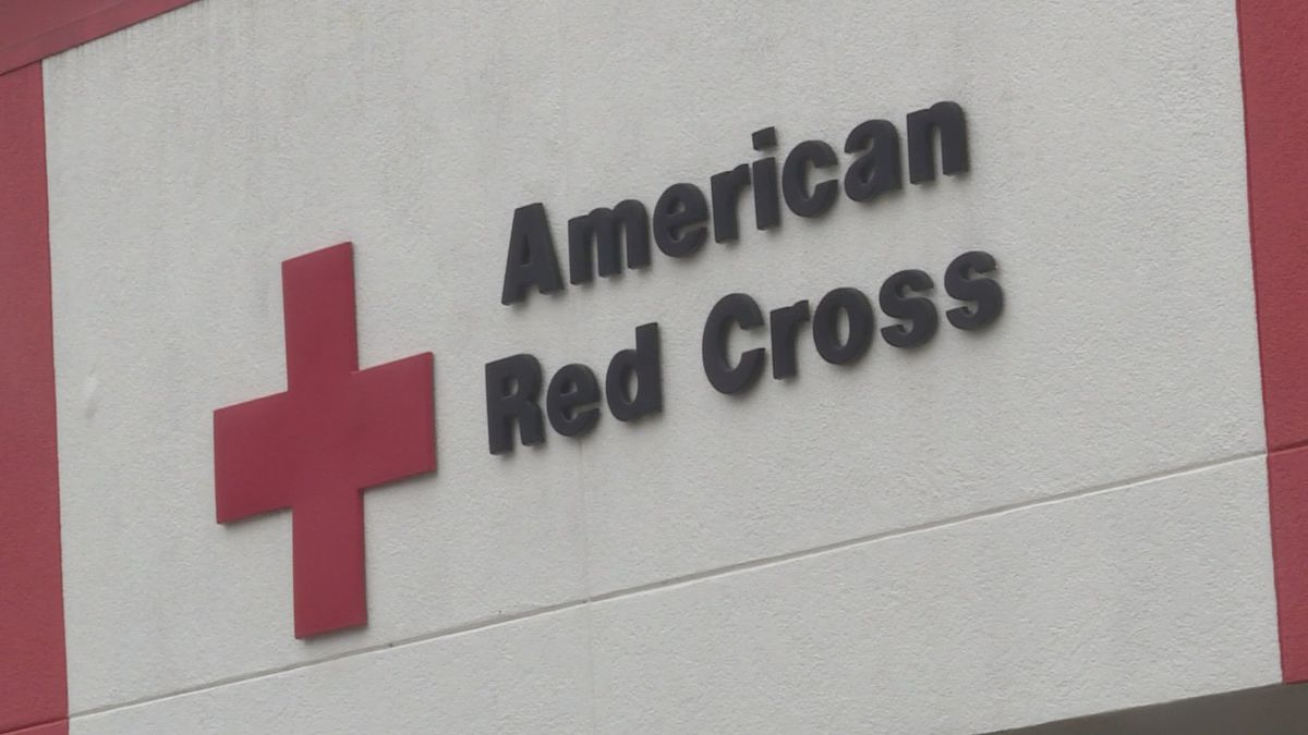 The exterior of the American Red Cross branch in Charleston, W.VA. Officials say the region has...