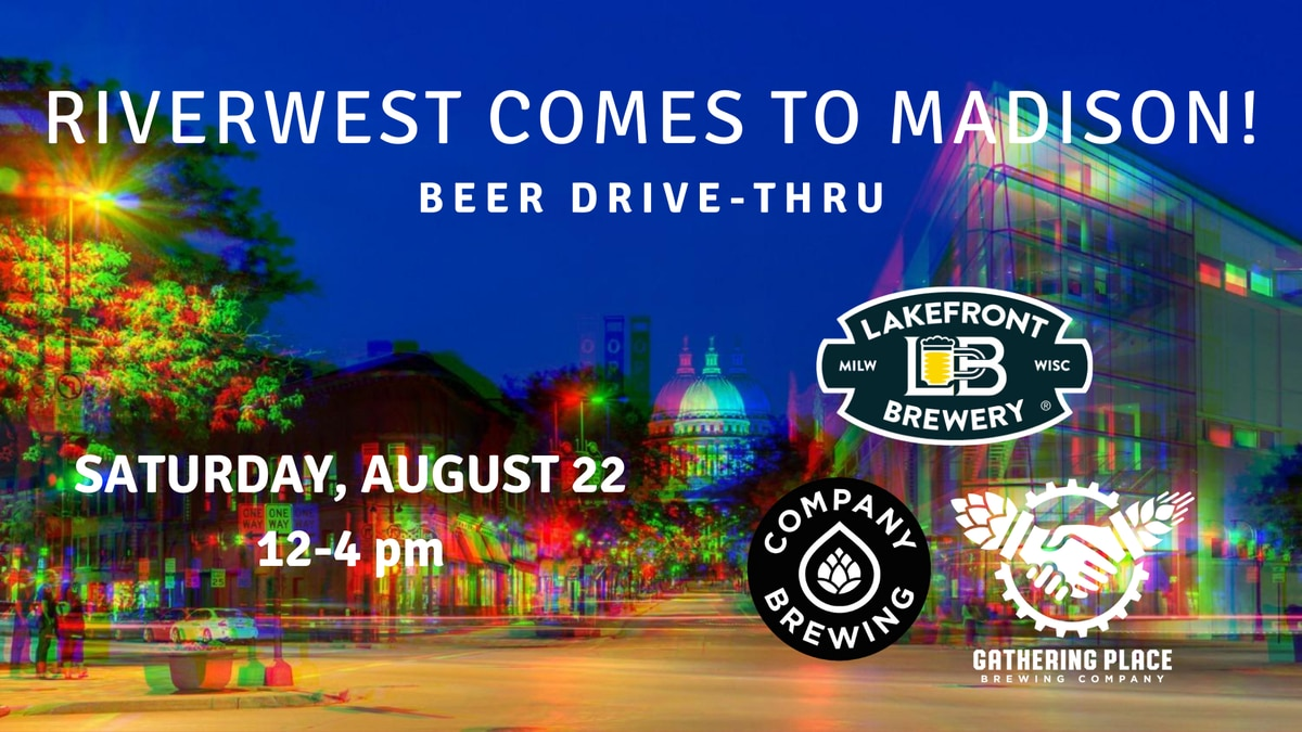 Riverwest Breweries drive-thru event