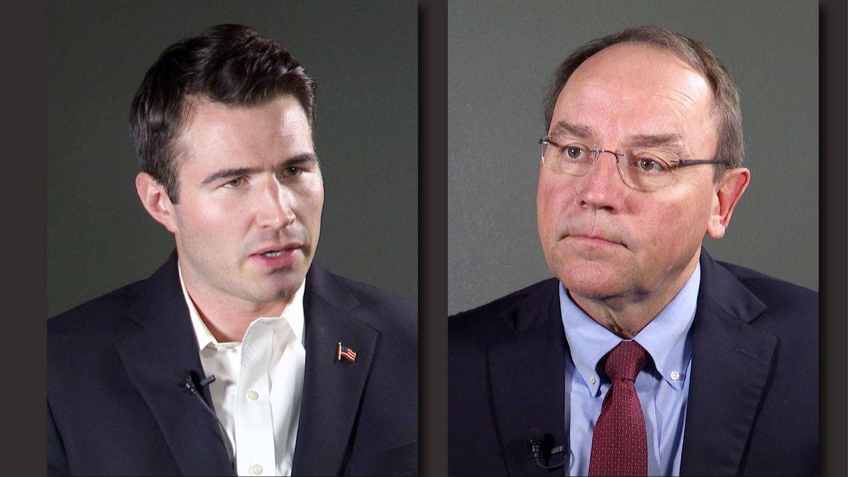 GOP Special Election candidates Jason Church, Tom Tiffany (WSAW Photo)