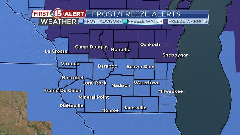 Frost/Freeze Alerts