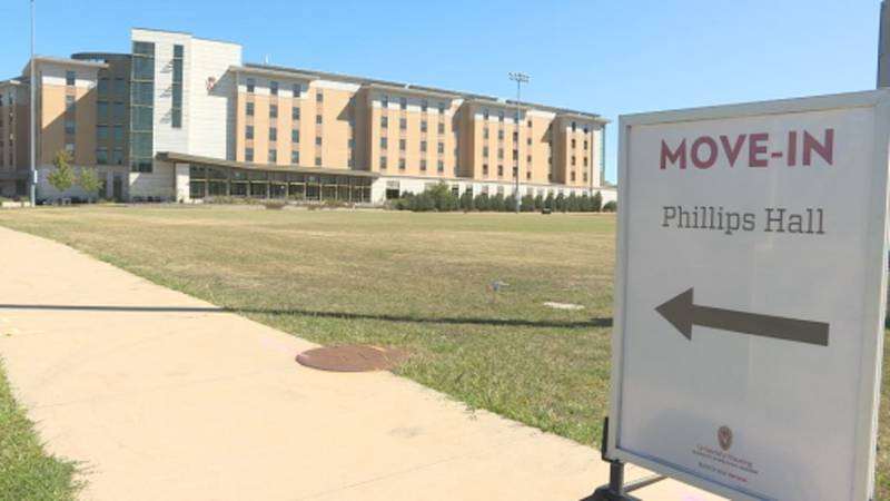 UW-Madison students will be tested for COVID-19 upon their arrival to the dorms.