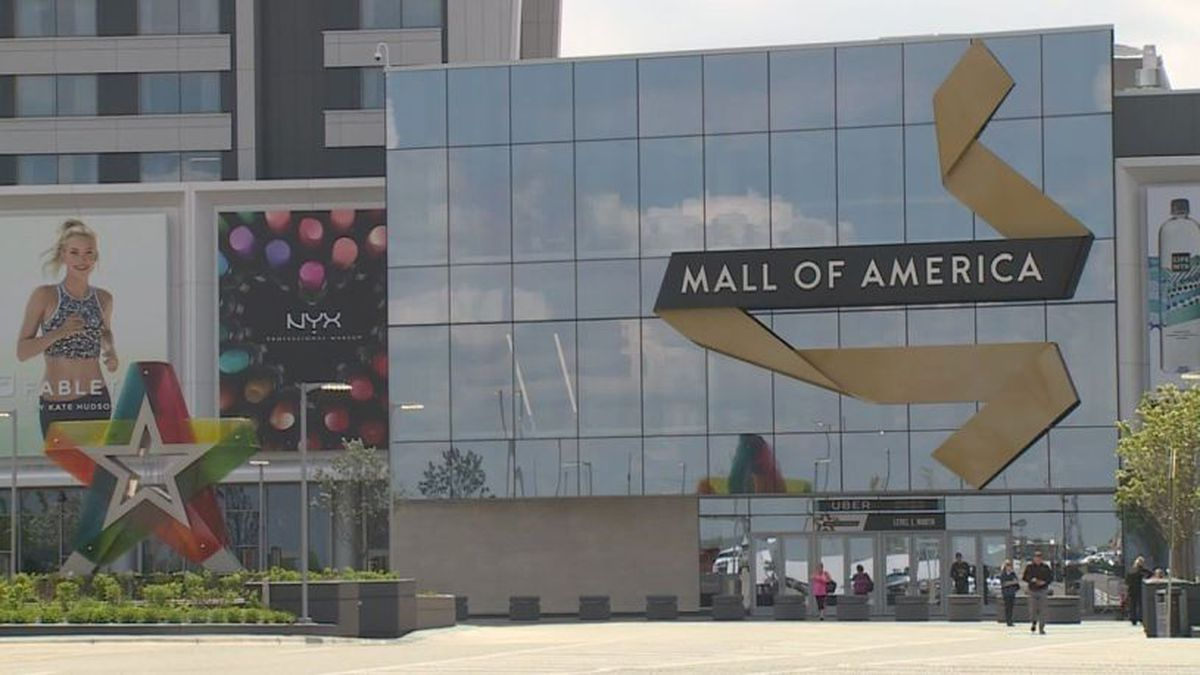 Mall of America in the Minneapolis area (KARE11).