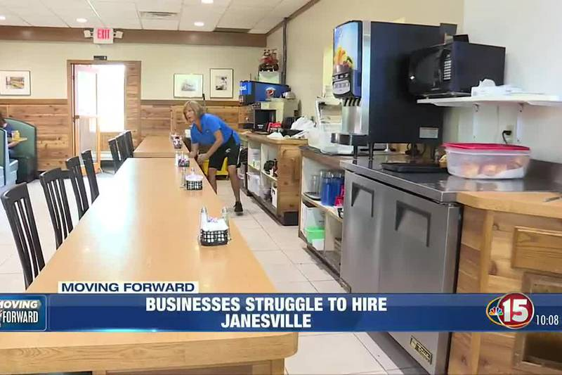 Businesses across Wisconsin say they're still struggling to find workers, which according to...