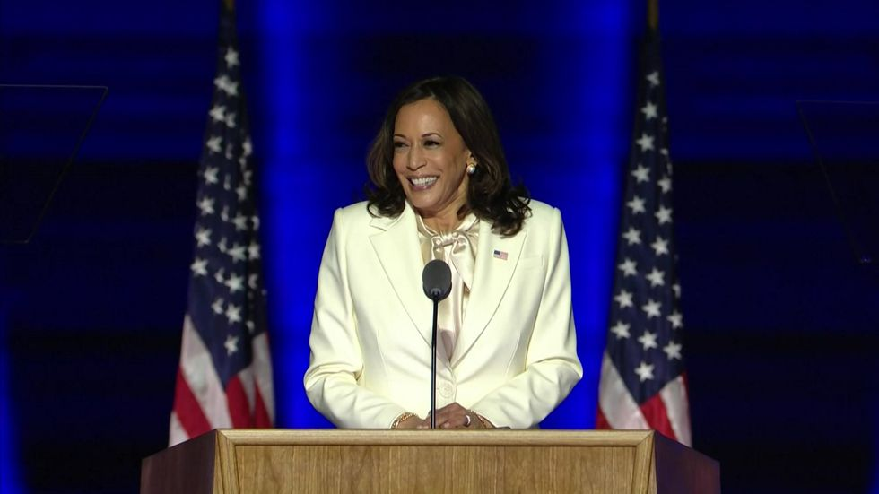 Kamala Harris Projected to Be First Woman of Color Elected