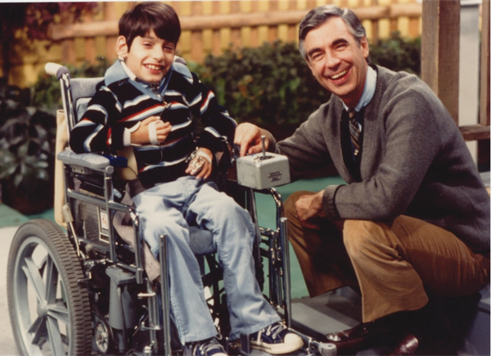 Fred Rogers and Jeff Erlanger.