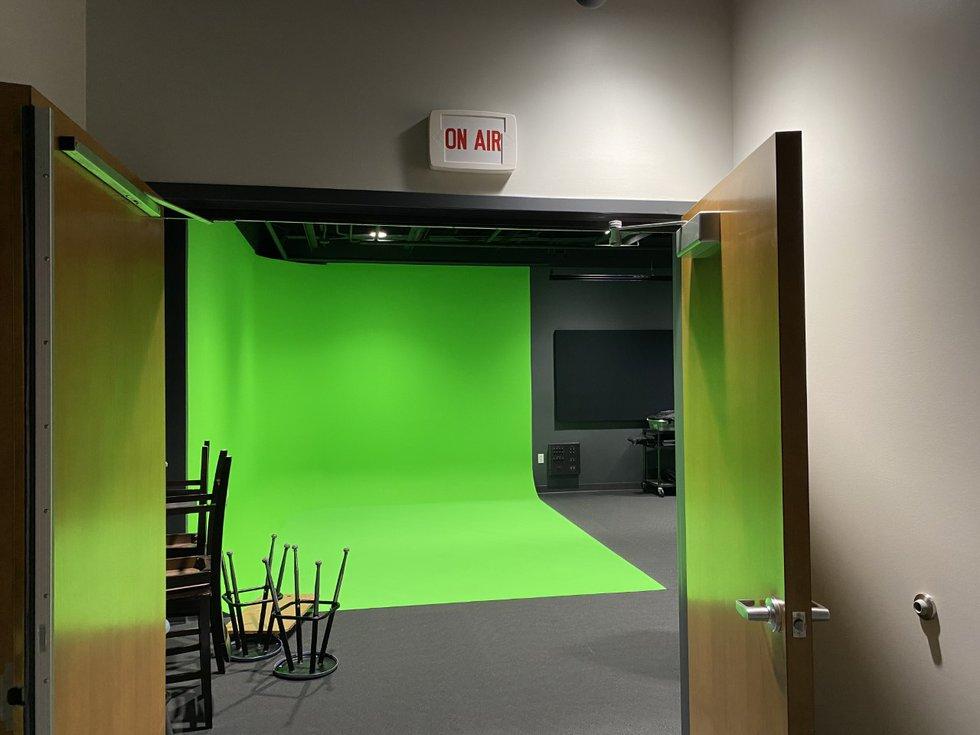 Middleton High School North Wing media studio
