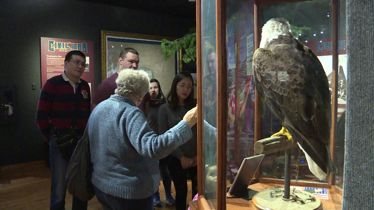 The Global Spouses Circle takes a field trip to the Wisconsin Veterans Museum. Outings are one...